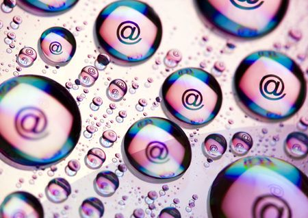 WWW icons ( @ ) photo