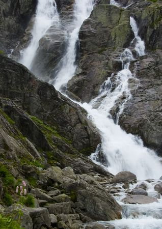 Mountain waterfall Stock Photo - 804083