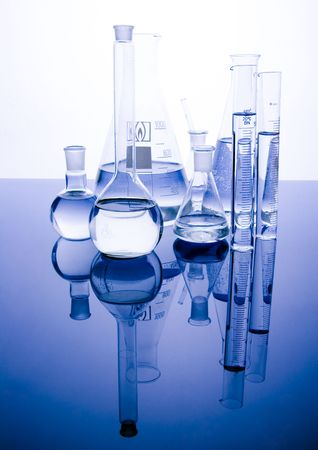 Laboratory glass    Stock Photo - 804525