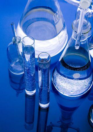 laboratory glass: Laboratorio di vetro  Archivio Fotografico