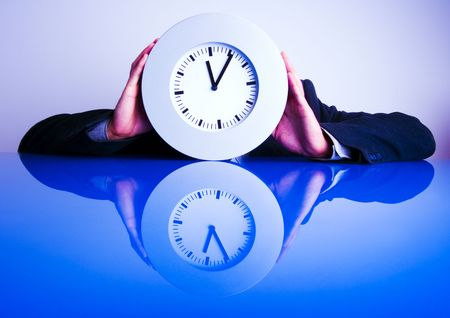 Business time is money time. Stock Photo