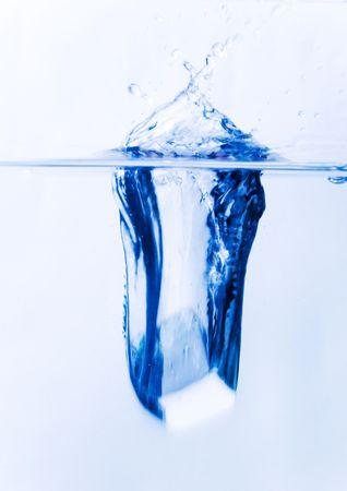 cubetti di ghiaccio: Cubetti di ghiaccio trasparente