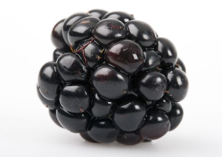 pome: The blackberry Stock Photo