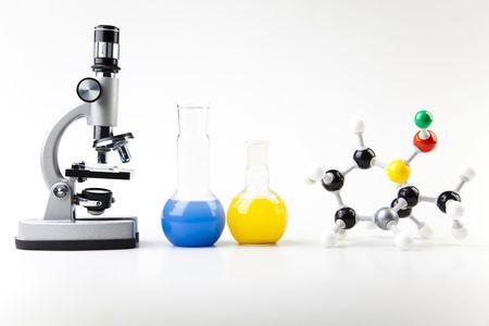 science experiment: Laboratory