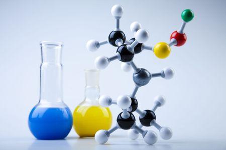 Molecular Model - Laboratory glass   photo