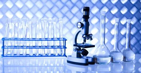 Laboratory glassware  Stock Photo - 21268464