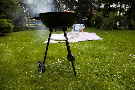 Hot grilling photo