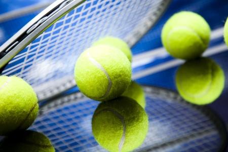 grand slam: Tennis Ball  Stock Photo