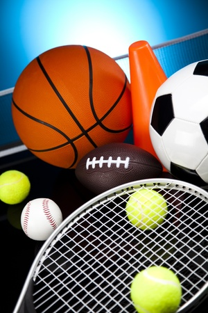recreational sport: Sport Equipment, Soccer,Tennis,Basketball