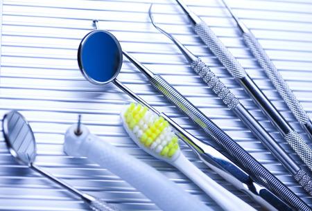 Herramientas Dentales establece photo