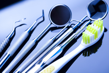 Dental tools and equipment photo