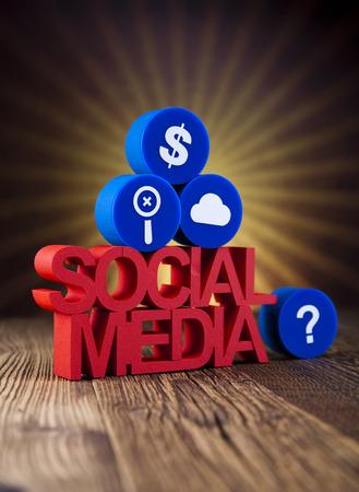 Social Media Concept Stock Photo - 23225194