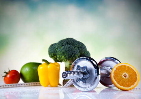 Dieta e fitness Banco de Imagens