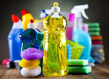 clean home: Gevarieerd reinigingsproducten
