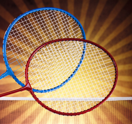 Badminton racket  photo