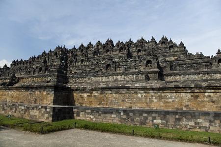 jogjakarta: Buddist temple Borobudur, Yogyakarta, Java, Indonesia