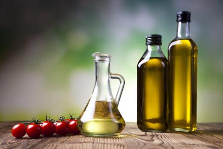 aceite de oliva: Aceite de oliva Foto de archivo