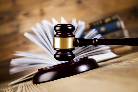 Law and justice concept, legal code  Stock Photo