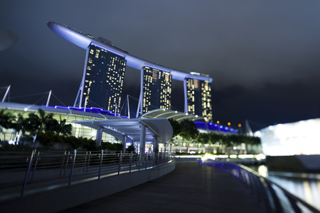 marina bay: Marina Bay, Singapore Editorial