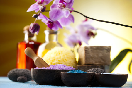 Orchids,organic products, Spa  photo