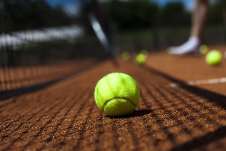 grand slam: Tennis Ball