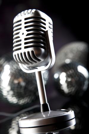 Disco Ball, Microphone photo