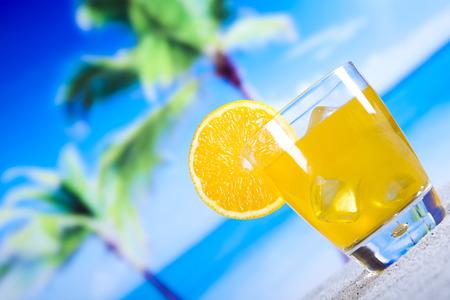 shooter drink: Orange cocktail drink
