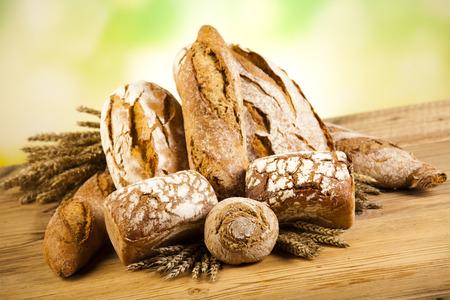 pumpernickel: Variety of bread Stock Photo