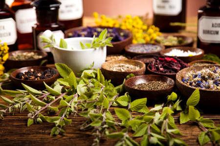 Pflanzliche Arzneimittel Standard-Bild