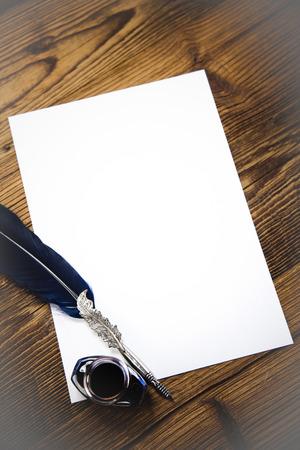 carta e penna: Vecchia carta, penna