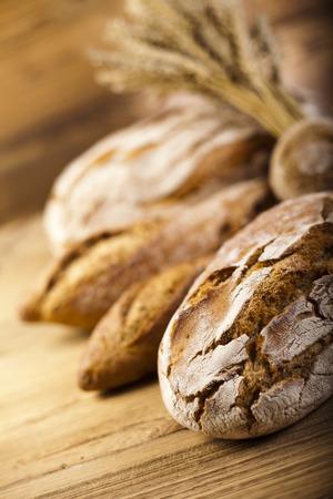 pumpernickel: Baked traditional bread