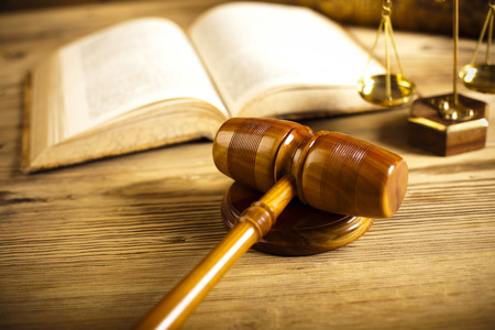 paragraf: Court gavel,Law theme, mallet of judge