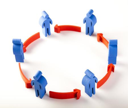 red de personas: Ciclo de red Gente