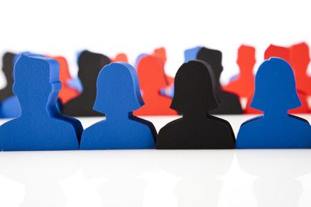 Social group teamwork photo