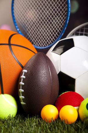 sports and recreation: Sport closeup detail, grass