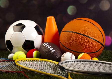 Sportausrüstung Standard-Bild