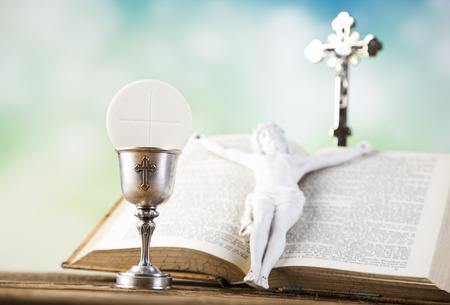 COMUNION: Símbolo cristianismo religión