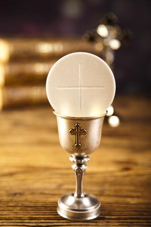 divine: Heilige communie Stockfoto