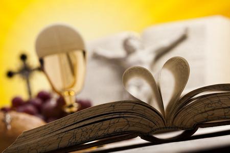 chaplain: I Love religion Stock Photo