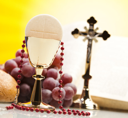 holy eucharist: Religion