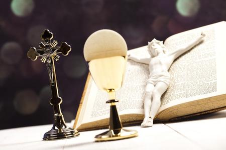 eucharistie: Saint de communion Banque d'images