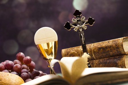 liturgy: I Love religion Stock Photo