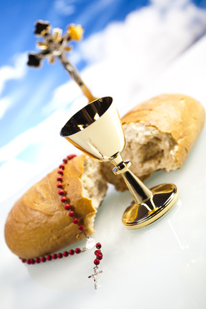 Eucharist, sacrament of communion photo