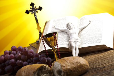 liturgy: Holy Communion Bread, Wine
