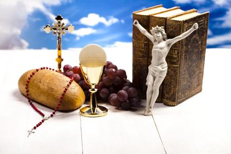 communion wafer: Holy Communion Bread, Wine