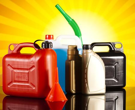 purge: Liquids for car Stock Photo