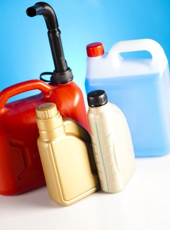liquids: Canisters, Liquids for car