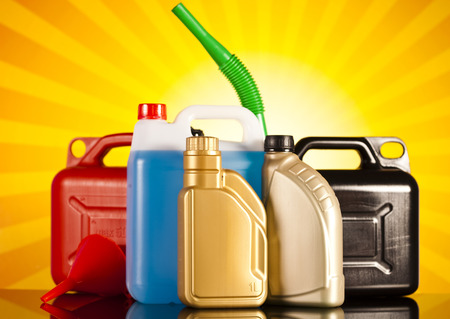 Canisters, Liquids for car photo