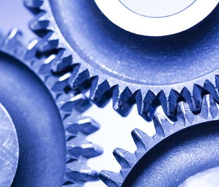 Gears, industrial mechanism photo
