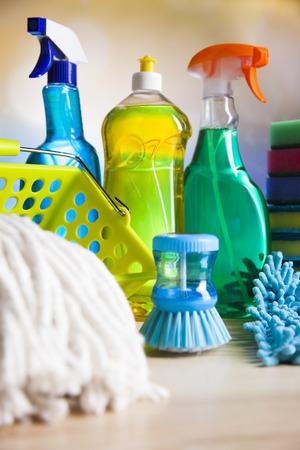limpieza  del hogar: Artículos de limpieza, trabajo a domicilio colorido tema